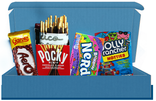 Snacks & snoep boxen uit Amerika, Japan, Korea, Tailand, Brazilie, Hongarije en veel meer!